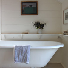 Farmhouse Bathroom by Justine Hand