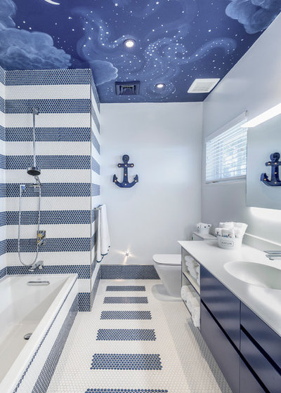 Contemporary Bathroom by Eclipse Designs Inc.      by Rhona Chartouni
