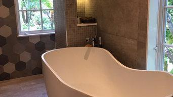 Harbor Green Master Bathroom