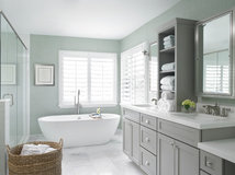 Marvelous  Classic Meets Contemporary in the Bath