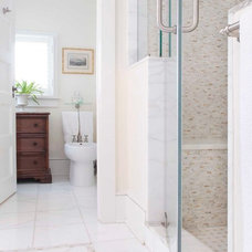 Traditional Bathroom by Arturo Palombo Architecture
