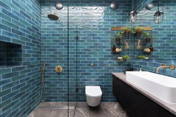 Industrial Bathroom by Domus Nova