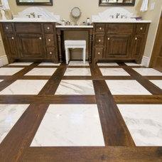 Traditional Bathroom by DuChateau Floors