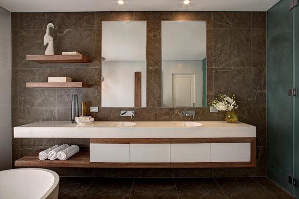 Contemporary Bathroom by PMG Design