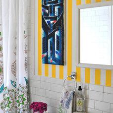 Eclectic Bathroom by Scheer & Co.