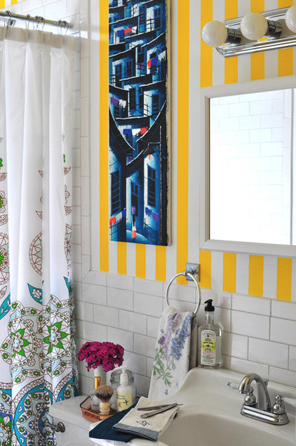 Eclectic Bathroom by Scheer & Co.
