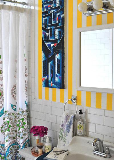 Eclectic Bathroom by Scheer & Co. Interior Design