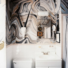 Eclectic Bathroom by Scout Designs