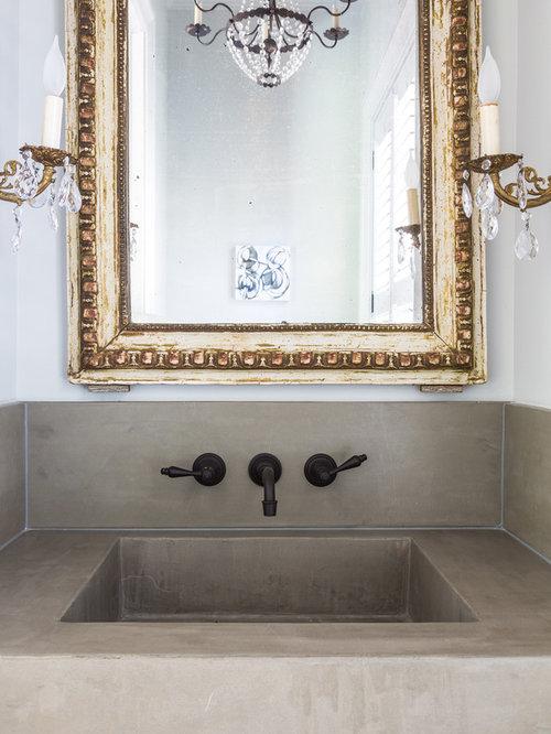 Salle d'eau romantique