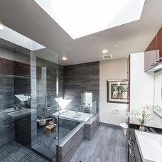 Contemporary Bathroom by HomeStage