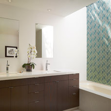 Contemporary Bathroom by Levy Art & Architecture