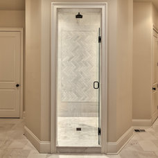 Transitional Bathroom by Stonecroft Homes