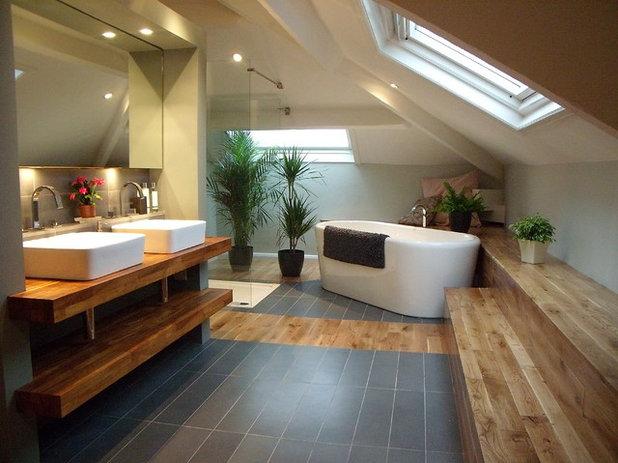 Contemporary Bathroom by Little England