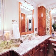 Traditional Bathroom by PHILLIPJEFFERSONDESIGN LLC