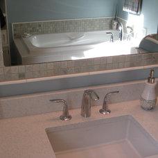 Contemporary Bathroom by Colleen Horner Design Studio