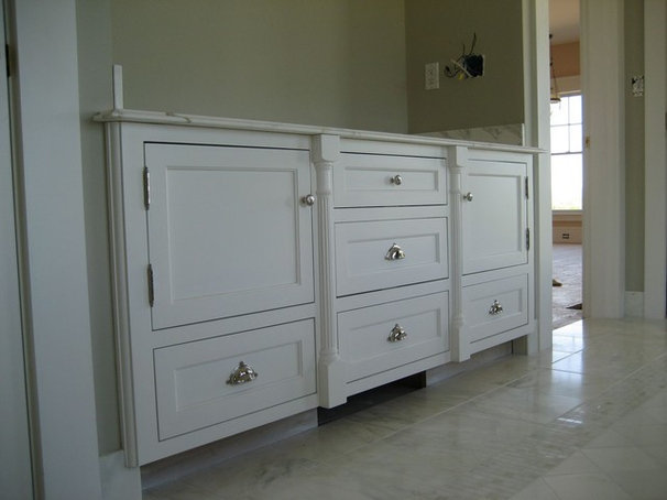 Traditional Bathroom by Sprague Woodworking