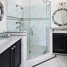 Beach Style Bathroom by Serenity Design
