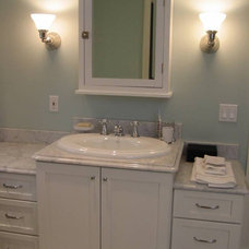 Traditional Bathroom by Tewksbury Kitchens & Baths