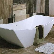 Contemporary Bathroom by Jill Jordan