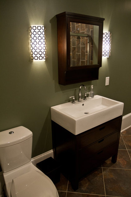 Traditional Bathroom by Erin Marshall Interior Design