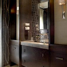 Contemporary Bathroom by PROjECT interiors + Aimee Wertepny