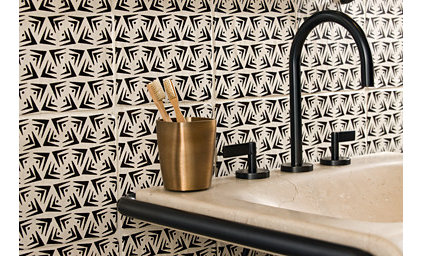 eclectic bathroom tile by ANN SACKS