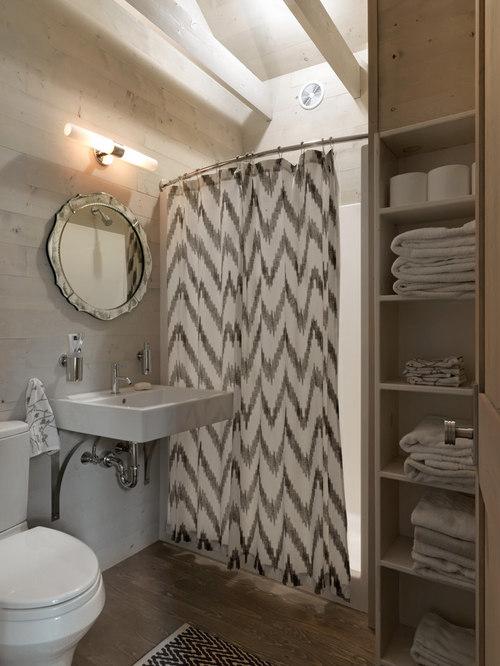 round shower curtain rod houzz