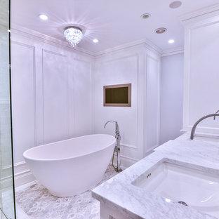 Foto di una stanza da bagno stile rurale