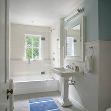 Traditional Bathroom by Rasmussen / Su Architects