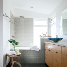 Contemporary Bathroom by Graham Builders
