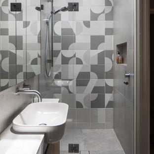 Contemporary bathroom in Canberra - Queanbeyan.