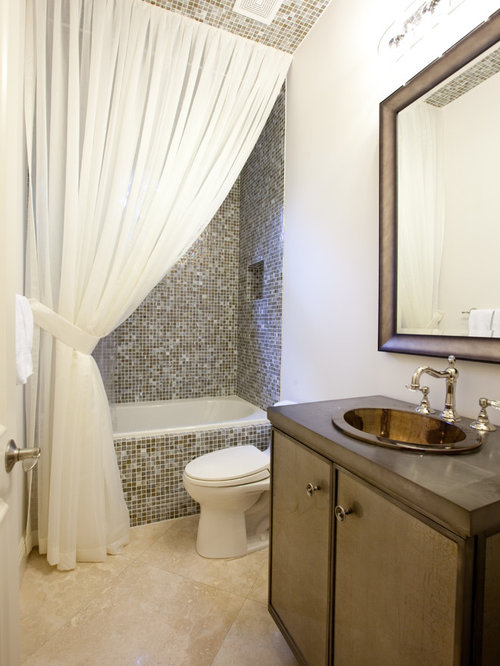 Floor To Ceiling Shower Curtain Ideas, Pictures, Remodel and Decor