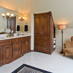 traditional bathroom by VeDco Design Group, Inc
