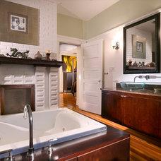 Traditional Bathroom by suzanne lawson design - interior design