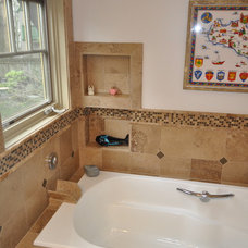 Traditional Bathroom by Cascade Contracting