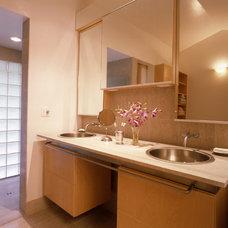 Contemporary Bathroom by Mark English Architects, AIA