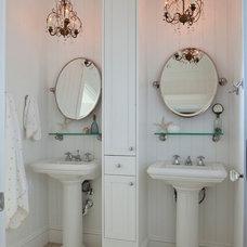 Beach Style Bathroom by Barclay Butera Interiors