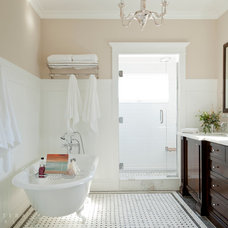 Beach Style Bathroom by Barclay Butera Interiors