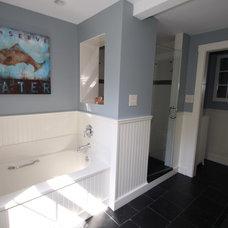 Traditional Bathroom by Hammerhead Custom Carpentry, LLC of Lancaster
