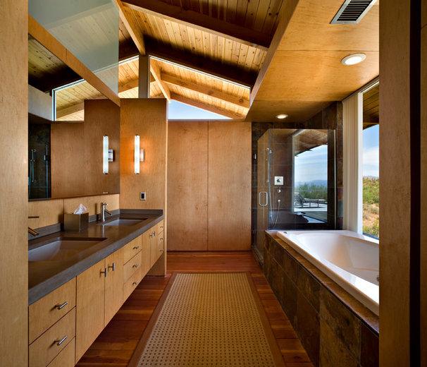 Contemporary Bathroom by Baldinger Studio