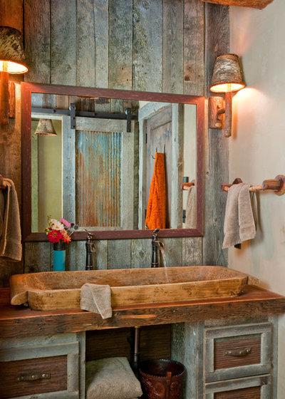 in montagna stanza da bagno by dan joseph architects llc