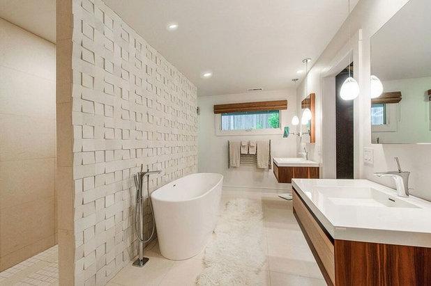 Contemporary Bathroom Healdsburg Hillside Ranch