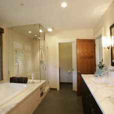 Contemporary Bathroom by Julie Williams Design