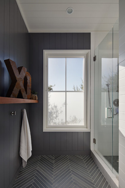Farmhouse Bathroom by Nick Noyes Architecture