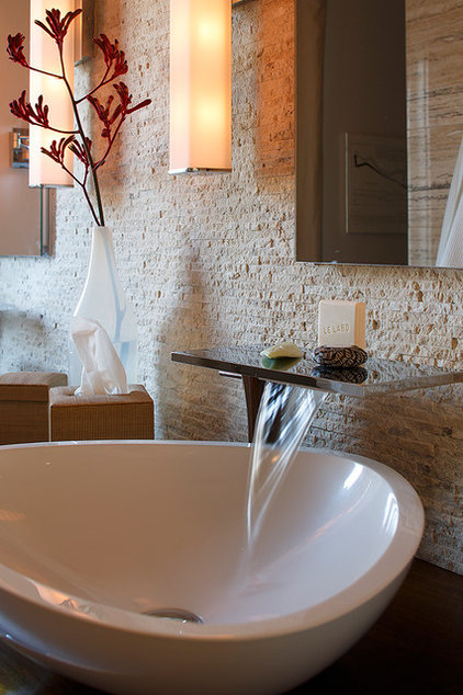 Contemporary Bathroom by Amy A. Alper