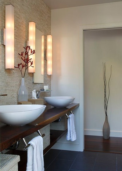 Contemporary Bathroom by Amy A. Alper, Architect