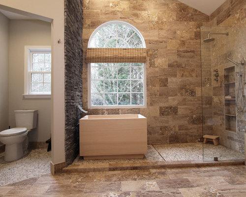 Foto e idee per stanze da bagno stanza da bagno con for Stanza giapponese