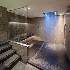 Contemporary Bathroom by Interieur+Architectuur by KAMERLINGVANDERBURGH©