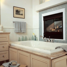 Traditional Bathroom by Heat & Glo Fireplaces: Designed to Inspire