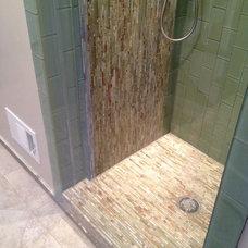 Contemporary Bathroom by Heather Cleveland Design